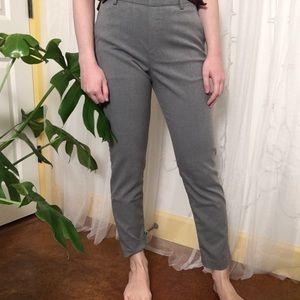 Uniqlo Pull On Gray Slacks